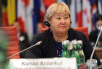 Interview with Kaana Aidarkul, Chairperson of the Kyrgyz Association of Women in the Security Sector
