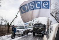 OSCE Chairperson-in-Office German Foreign Minister Frank-Walter Steinmeier,OSCE Secretary General Lamberto Zannier,as well as President of the OSCE Parliamentary Assembly Christine Muttonen,continued to use every opportunity to urge an end to the fighting