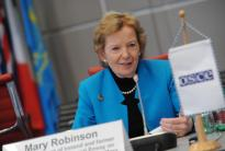 Interview with Mary Robinson, former President of Ireland and former United Nations High Commissioner for Human Rights, former UN Special Envoy on Climate Change, and founder of the Mary Robinson Foundation.