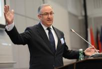 Achmed Aboutaleb, Mayor of Rotterdam, speaks about his can-do approach to governing Western Europe's largest port city at the OSCE Security Days in Vienna on 30 and 31 March 2017.