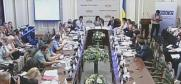 Organised by the OSCE Project Co-ordinator, recorded by Rada TV Channel, in Ukrainian only, Kyiv, 14 July 2016