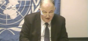 Apakan is Chief Monitor of the OSCE Special Monitoring Mission to Ukraine. New York, 12 November 2014.