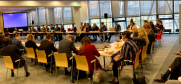 Participants and experts attending the side event on AI at the Human Dimension Implementation Meeting, in Warsaw, Poland, on 18 September 2019. (OSCE)