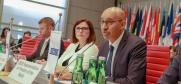 OSCE Representative on Freedom of the Media, Harlem Désir, Vienna, 4 July 2019.  (OSCE)