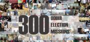 INFOGRAPHIC: The local elections in Ukraine on 25 October 2015 is the 300th time that ODIHR has observed elections since establishing its comprehensive election observation methodology.