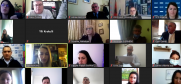 Participants of the online event on performance of six Local Safety Councils in Albania, 4 March 2021.  (OSCE)