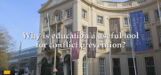 Thumbnail image for video: Why is education a useful tool for conflict prevention?  (OSCE)