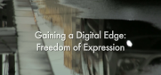 Thumbnail of 'Gaining a Digital Edge Freedom of Expression' video (OSCE)