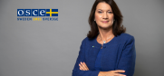 OSCE Chairperson-in-Office, Minister of Foreign Affairs of Sweden, Ann Linde. (MFA Sweden/Kristian Pohl)