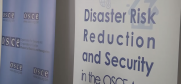 thumbnail for 'Disaster Risk Reduction and Security in the OSCE Area' video (OSCE)