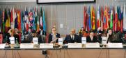 Experts at the roundtable on the impact of artificial intelligence on freedom of expression, organized by the OSCE Representative on Freedom of the Media, in Vienna, 10 March 2020. (OSCE/Micky Kroell)