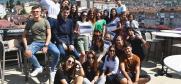 Alumnistkinje Akademije za jezik i kuturu, Prizren, 28.avgust 2019.  (OEBS/Oscar Gray)