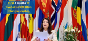 Time to look back at the first four months of Sweden's 2021 Chairpersonship of the OSCE.