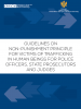 Guidelines on General principles regarding non-punishment provision for victims of trafficking in human beings (THB)  (OSCE)