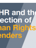 ODIHR and the Protection of Human Rights Defenders