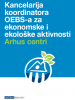 Serbian cover for the Factsheet on the Aarhus Centres (OSCE)