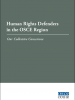 Cover of Human Rights Defenders in the OSCE Region: Our Collective Conscience (OSCE)