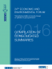 Cover for Compilation of Consolidated Summaries 2016 (OSCE)