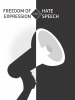 Cover of 'Freedom of expression and hate speech' (OSCE)