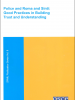 """Cover of the OSCE manual """"Police and Roma and Sinti: Good Practices in Building Trust and Understanding"""". (OSCE)"""