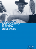 Front cover of the Handbook for Domestic Election Observers (OSCE)