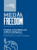 Cover of the police paper on freedom of the media and artificial intelligence. (OSCE)