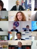 Speakers of the 7th OSCE South East Europe Media Conference, 17-18 September 2020. (OSCE)
