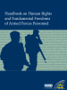 Front cover of the Handbook on Human Rights and Fundamental Freedoms of Armed Forces Personnel (OSCE)