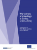 "Cover ""War crimes proceedings in Serbia (2003-2014)"" (OSCE)"