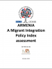 "Front cover of the report ""Armenia, A Migrant Integration Policy Index Assessment, 2013"" (OSCE)"