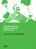 Front cover of the Guidelines on Human Rights Education for Health Workers (OSCE)