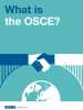 "Thumbnail cover of the ""Factsheet: What is the OSCE?"" (OSCE)"