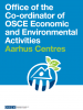 cover for the Factsheet on the Aarhus Centres (OSCE)