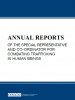 cover for collection: Annual Reports of the OSCE Office of the Special Representative and Co-ordinator for Combating THB (OSCE)