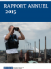 Cover french of the OSCE Annual Report 2015 (OSCE)
