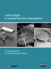 "Front cover of ""Human Rights in Counter-Terrorism Investigations: A Practical Manual for Law Enforcement Officers"" (OSCE)"