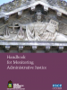 Front cover of the Handbook for Monitoring Administrative Justice (OSCE)