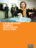 Front cover of the Handbook for Monitoring Women's Participation in Elections (OSCE)
