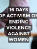 The OSCE is firmly committed to combating all forms of violence against women, and is supporting the 16 Days of Activism Against Gender-Based Violence Campaign. (OSCE)