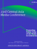 Cover of the 23rd Central Asia Media Conference, 9-10 September 2021. (OSCE)