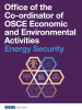 cover: Factsheet Office of the Co-ordinator of OSCE Economic and Environmental Activities Energy Security (OSCE)