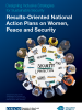 Cover for Designing Inclusive Strategies for Sustainable Security: Results-Oriented National Action Plans on Women, Peace and Security (OSCE)