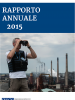 Cover (Italian) of the OSCE Annual Report 2015 (OSCE)