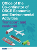 Transport and customs factsheet cover (OSCE)