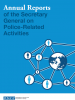 cover for the collection of Annual reports of the Secretary General on police-related activities (OSCE)