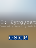 Cover image for 'CSI: Kyrgyzstan - The Community Security Initiative' (OSCE)