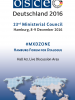 cover: #MXDZONE, Hamburg Forum for Dialogue (OSCE)