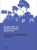 Front cover of the Guidelines on Human Rights Education for Law Enforcement Officials (OSCE/Shiv Sharma)