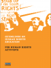 Front cover of the Guidelines on Human Rights Education for Human Rights Activists (OSCE)