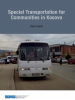 "Cover of ""Special Transportation for Communities in Kosovo"" report (OSCE)"